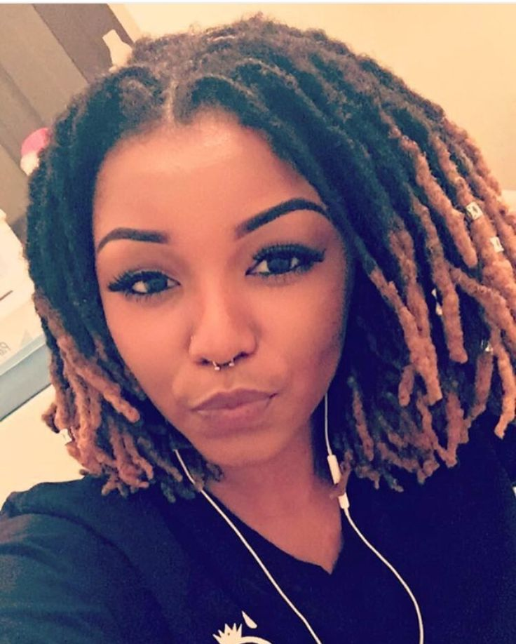 Dreads Hairstyles the home of locs Shoulder Length Colored Locs
