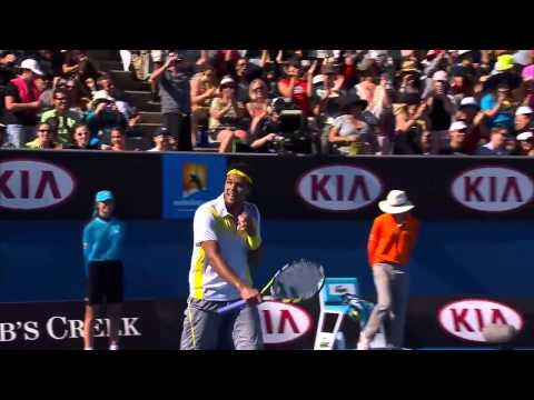 Shot of the Day: Jo-Wilfried Tsonga - Australian Open 2013