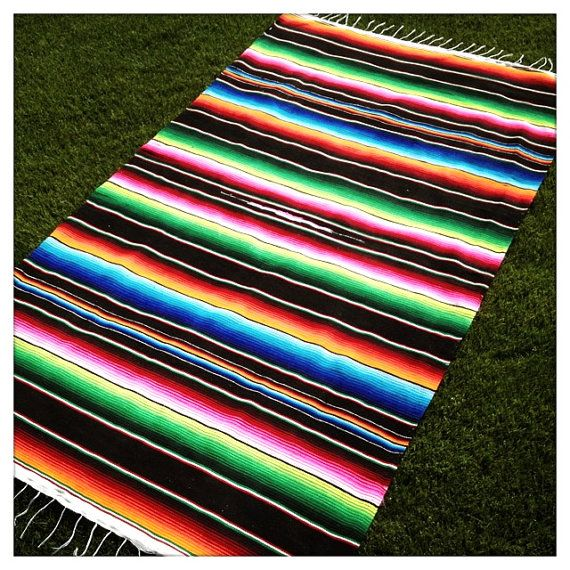 Mexican Picnic Blanket