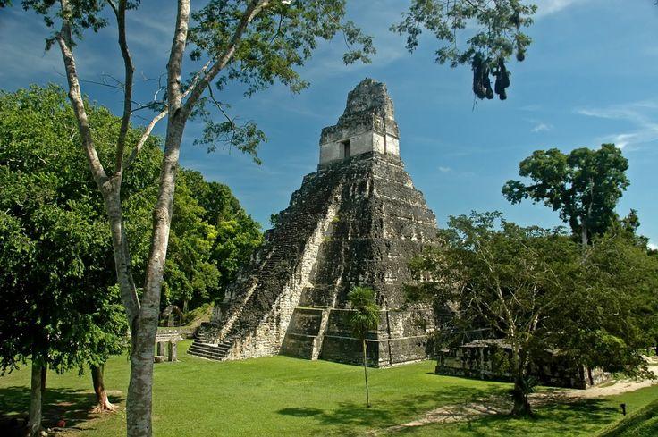 Pirâmide do Grande Jaguar - Petén - Guatemala