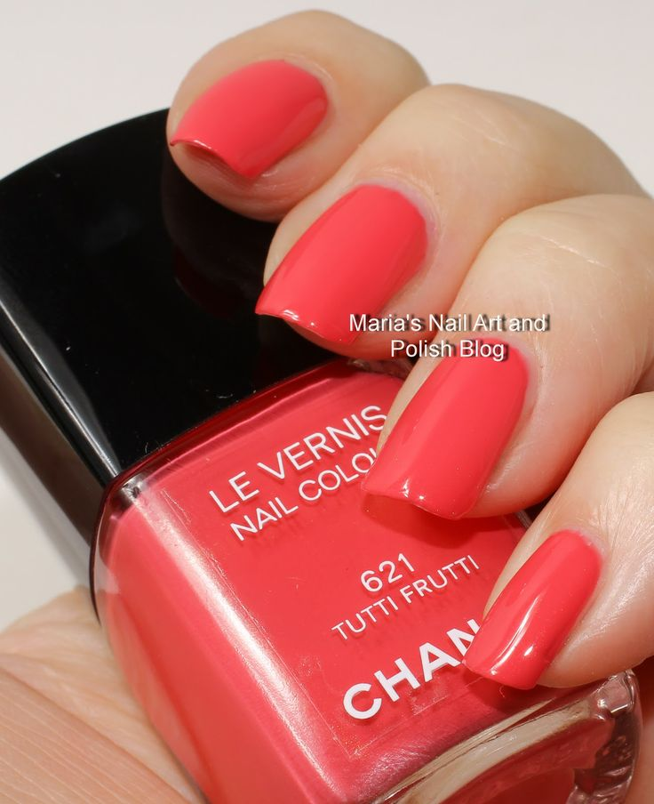 Tutti Frutti Nails: 27 Best Images About Chanel Nail Polish On Pinterest