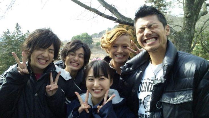 Kamen Rider OOO cast