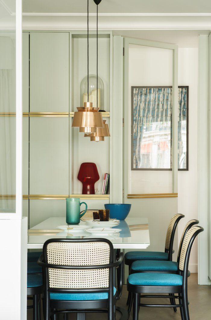 Un appartement parisien comme une suite d'hôtel
