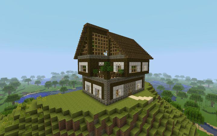 1000 Id Es Sur Le Th Me Minecraft Wooden House Sur