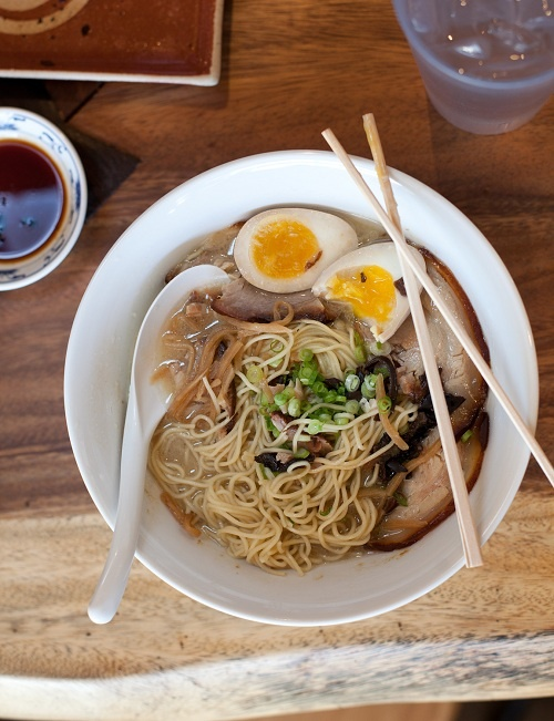 This isn't your college ramen. No matter how you did at the tables, tuck into a bowl at Monta Japanese Noodle House in Las Vegas for delicious take on that old comfort food. #shopsmall