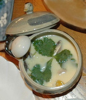 Japanese Chawanmushi (Steam egg) - It looks simple, but it's quite hard to make. I've tried many recipes, but this one works the best! Never fail every time! Thanks, skydaddy on Cookpad for sharing the recipe. Happy cooking!