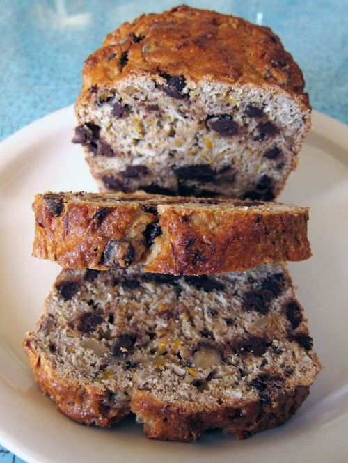 Squash Coconut Chocolate Chip Loaf (can be sub with Zucchini!!)