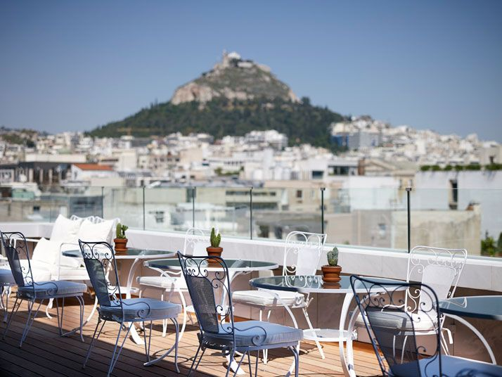 NEW Art Lounge, photo © Vangelis Paterakis. / http://www.yatzer.com/NEW-Hotel-Campana-Brothers-Athens-Greece