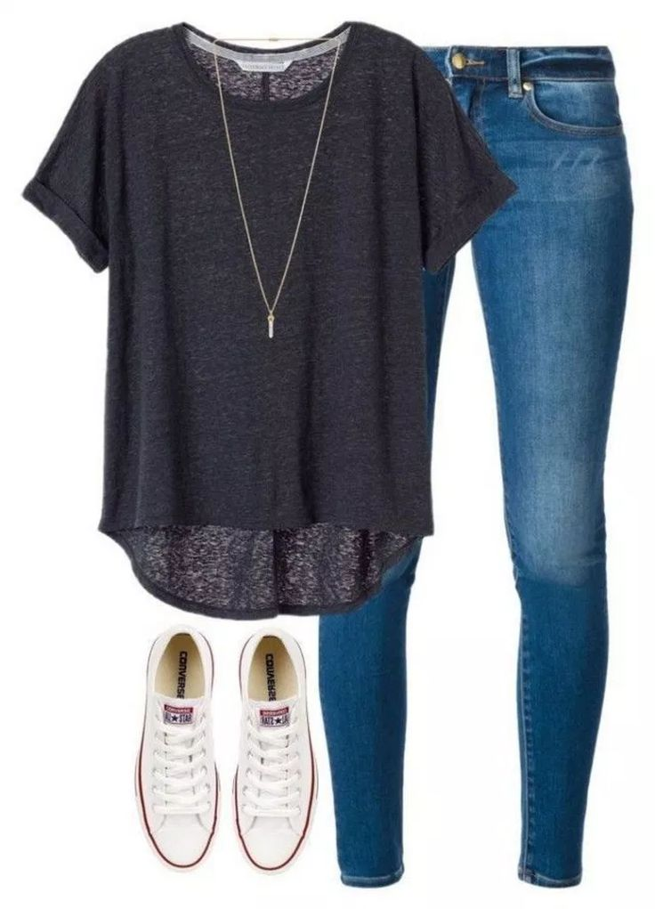 61 Awesomely Cute Back To School Outfits For High School #cutebacktoschool #backtoschooloutfis #highschool » makingupcode.com