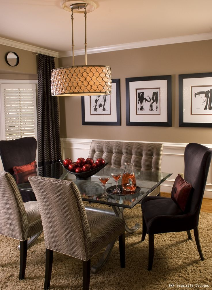 Dining Room Colors Brown beautiful colorful chairs for dining room photos - room design