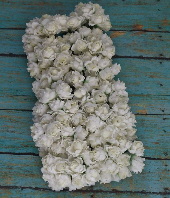 SELLING OUT  144 Small Creamy White Roses  by BlissfulSilks