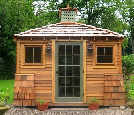 17 best images about outdoor craft business studio on for Shed into pool house