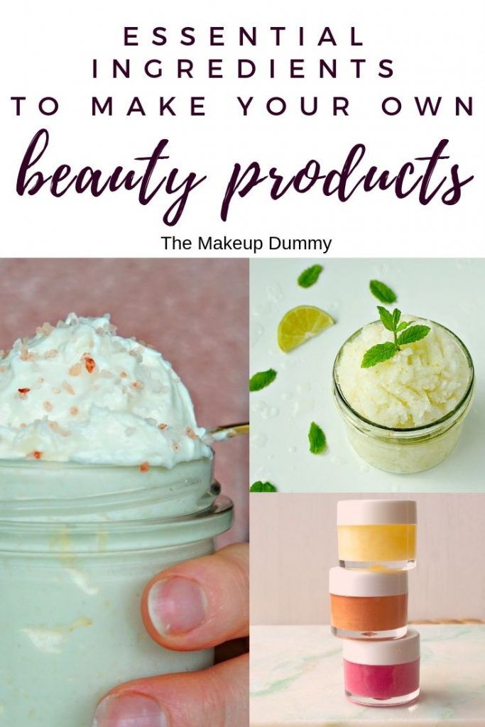 Make Your Own Skincare At Home Full List Of Diy Ingredients You Need To Make Your Own Homemade Diy Beauty Recipes Natural Beauty Diy Homemade Beauty Products
