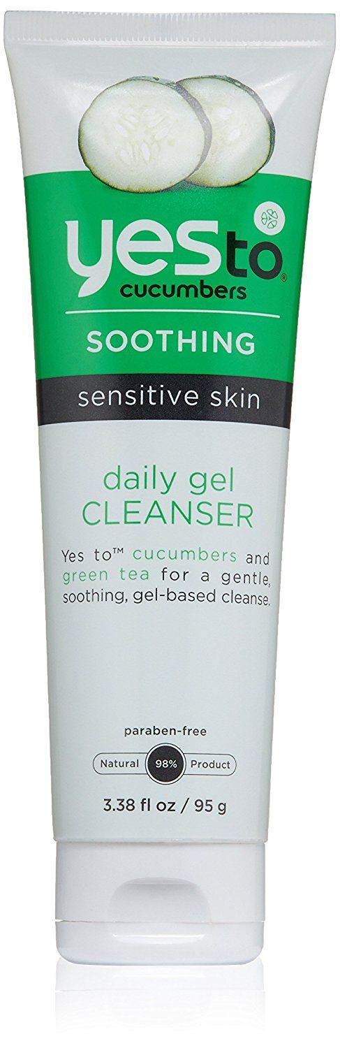 Yes To Cucumber Daily Gentle Cleanser, 3.38 Fluid Ounce * Review more details here : Skin care