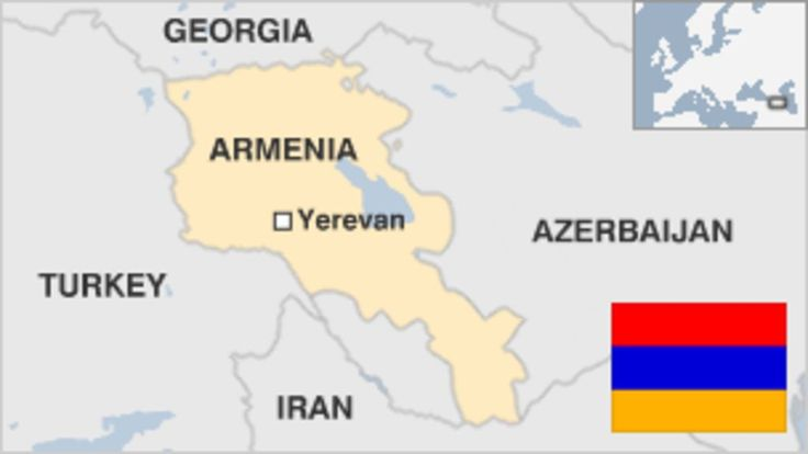 Provides an overview of Armenia, including key events and facts about this eastern European country