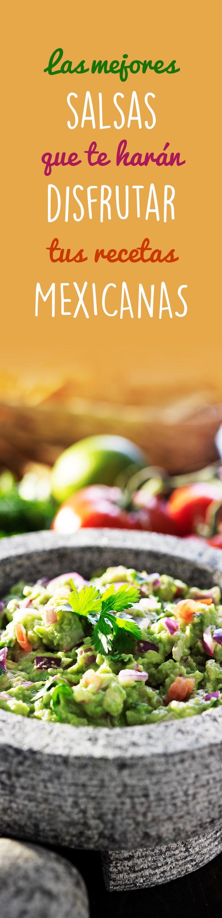 Deliciosas recetas de salsas, complementa tu comida con una deliciosa salsa.