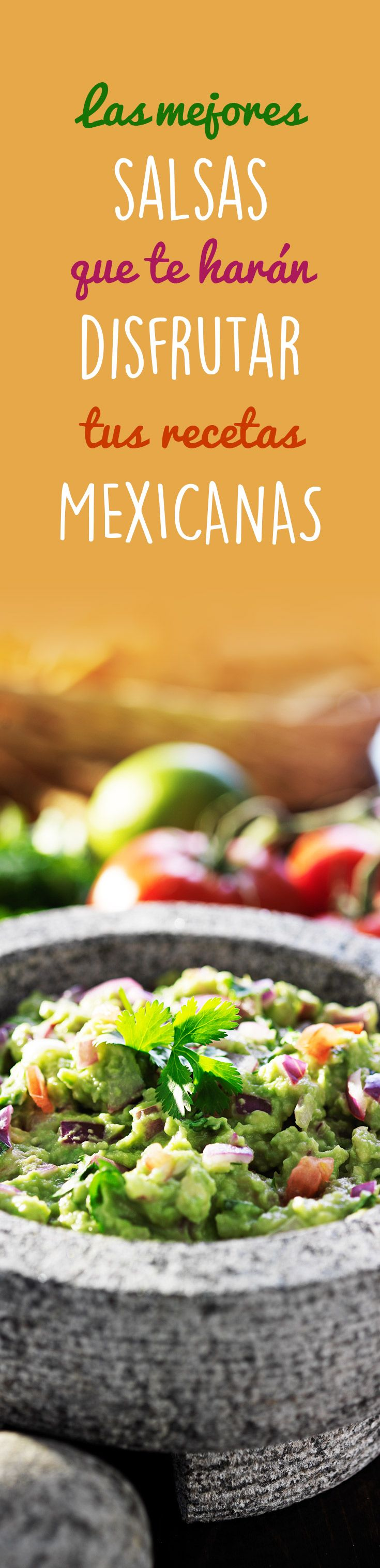 Encuentra las mejores SALSAS picositas para acompañar tus recetas mexicanas cualquier día de la semana y sorprende a todos en casa con un sabor incomparable.