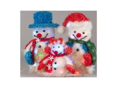 Nie ma nic weselszego niż świąteczny bałwan a ta rodzina świecących bałwanów przyniesie do Twojego domu świąteczny blask. Więcej na http://tetex.pl/oferta,rodzina-balwankow-dekoracja-swiateczna,4e445935.html