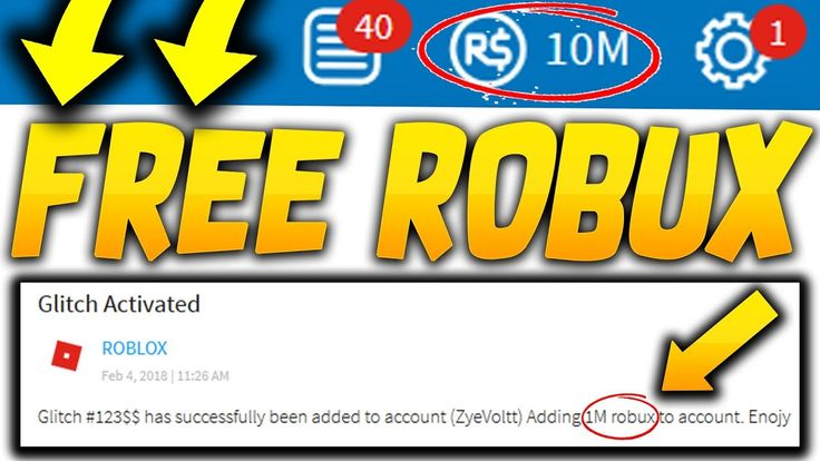 *NEW GLITCH* How To Get FREE ROBUX in 2018 (FREE ROBUX ON ...