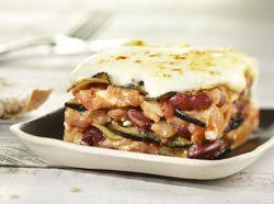 Vegetarische mousaka met rode bonen; Recept » Colruyt Culinair