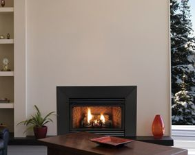 innsbrook ventfree gas fireplace insert with builtin thermostat - Gas Fireplace Ventless