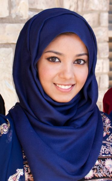 Nice hijab style!