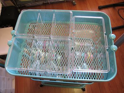 Did I say that out loud?: Organising an Ikea Raskog trolley - Part 1