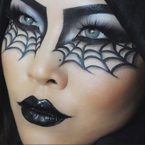 Best 25+ Spider makeup ideas on Pinterest | Spider web makeup ...