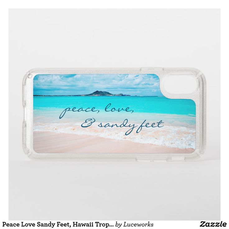 Tropical Beach And Peaceful Ocean: Peace Love Sandy Feet, Hawaii Tropical Beach Photo Speck