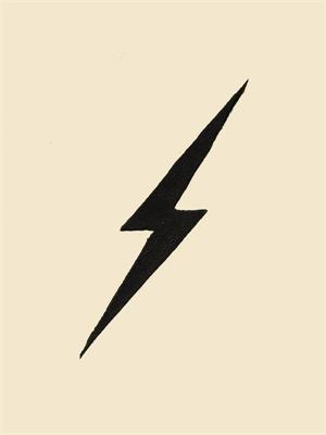 Bolt print. Jennifer Ament