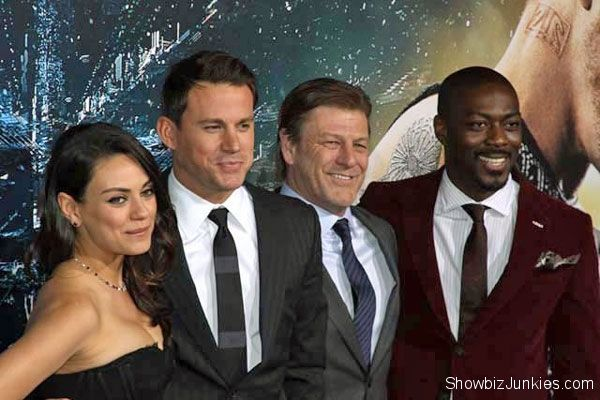 Jupiter Ascending Cast Photo #celebrityphotos #channingtatum #eddieredmayne