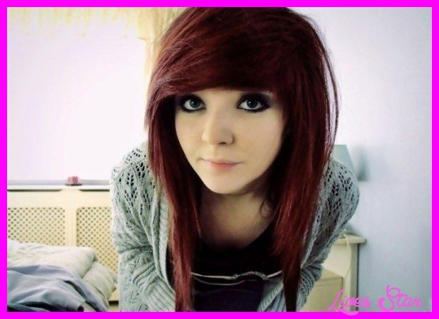 awesome Emo long haircuts with side bangs