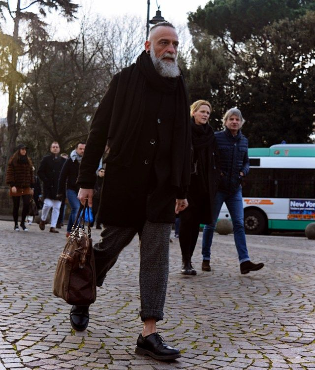 ON THE STREET - Mauro Del Signore Pitti Man Florence www.maurodelsignore.com