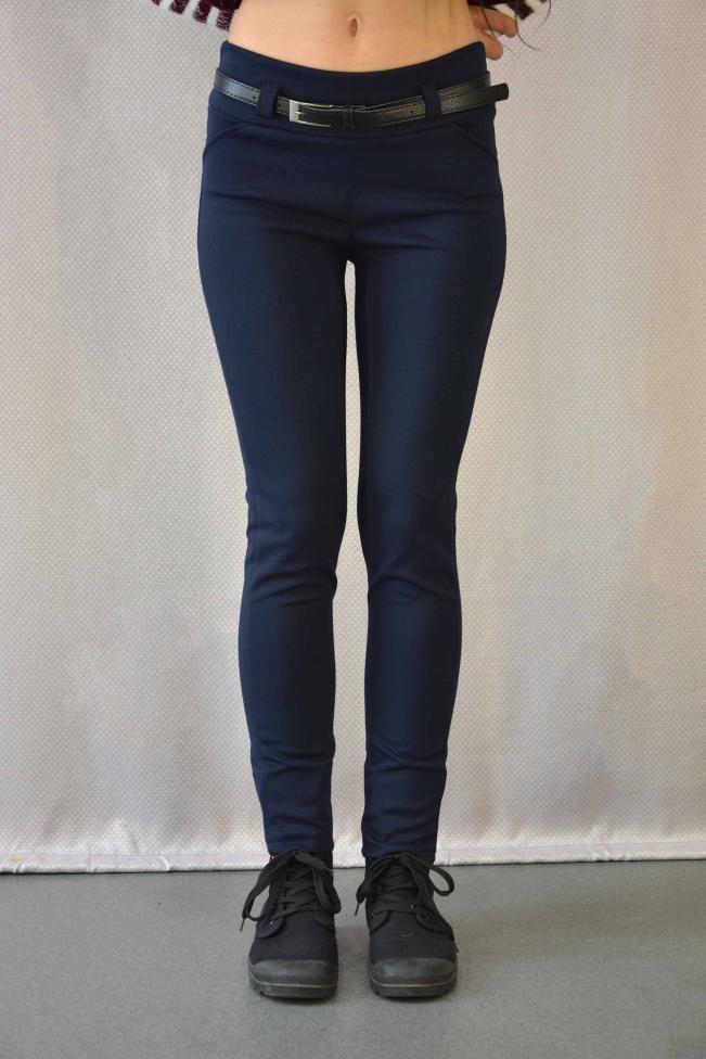 Γυναικείο παντελόνι ποντοστόφα  PANT-5013-bl  Παντελόνια