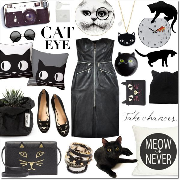 Kitty Kat by justlovedesign on Polyvore  - 1 group contest win