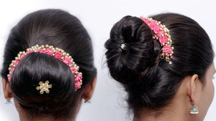 new latest juda hairstyle || cute hairstyle || simple hairstyles || bun hairstyle || easy ...