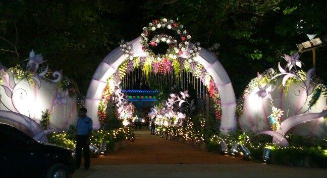 Reception main gate