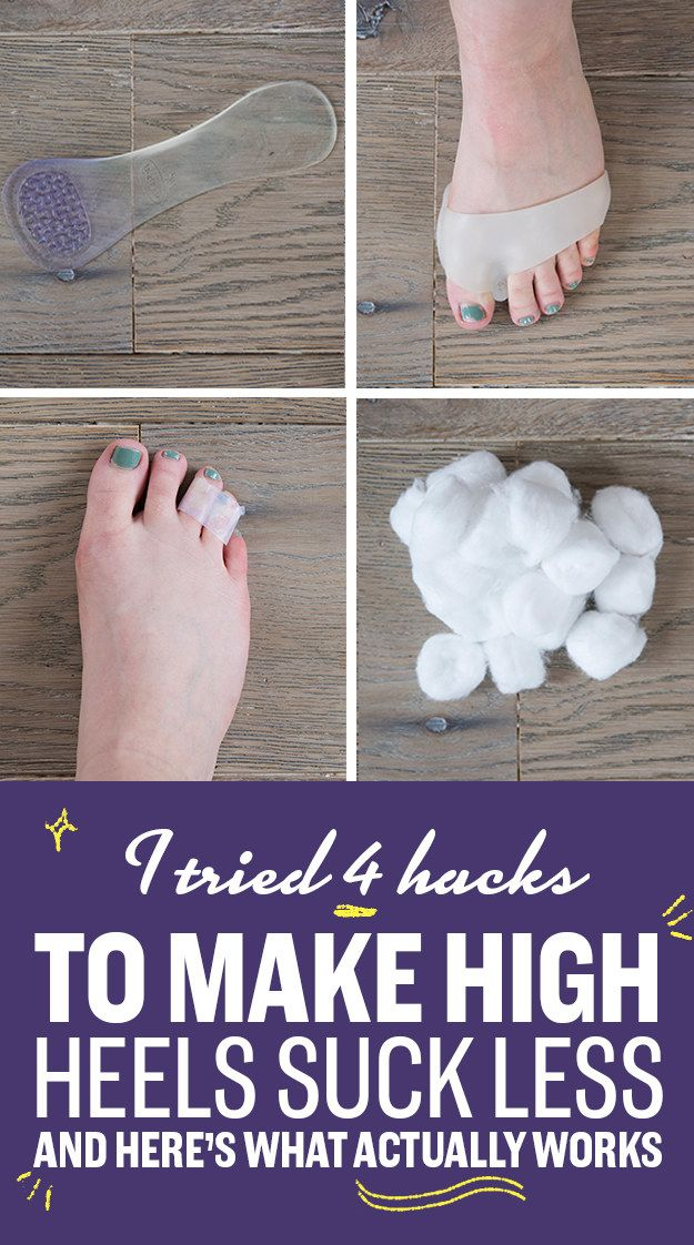 I Tried Four Hacks To Make High Heels Suck Less And Here's What Actually Works
