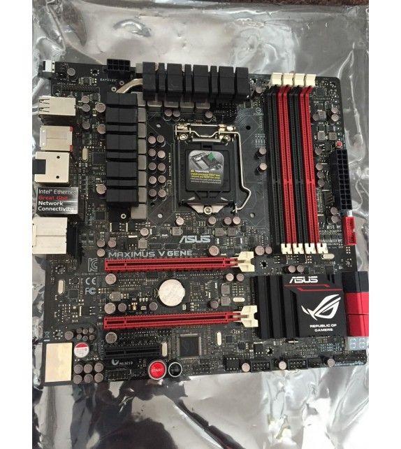 ASUS MAXIMUS V GENE, LGA 1155/Socket H2, Intel Motherboard