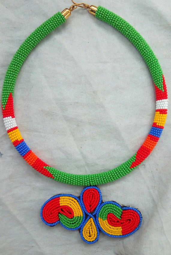 Check out this item in my Etsy shop https://www.etsy.com/listing/540729287/statement-necklace-masai-jewelry-african