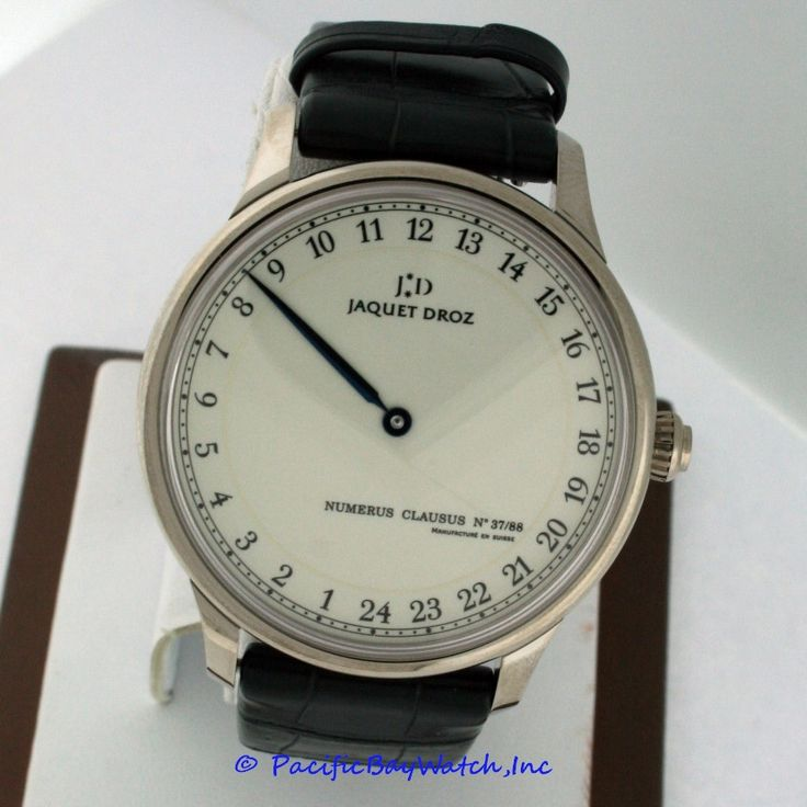 Jaquet Droz Grande Heure GMT Pre-owned