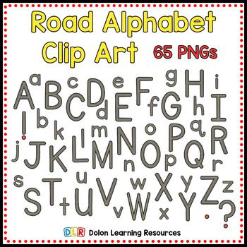 65 PNGs.  Each png is one letter.  Uppercase, lowercase, numbers and punctuation included.