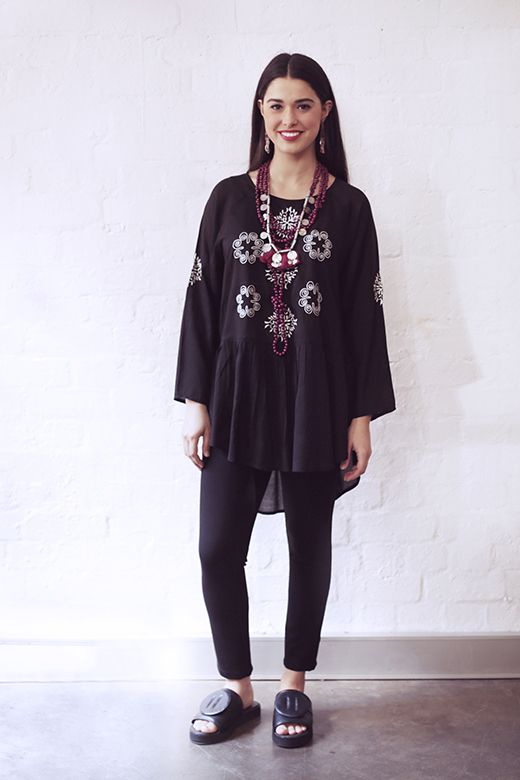 Celtic Peplum Top http://cakeclothing.net/collections/winter-15/products/celtic-peplum-top-black