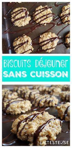 En plus d'être bons, ces Biscuits déjeuner sans cuisson sont faciles à faire et ne prennent que quelques minutes à cuisiner. De plus, la recette s'adapte pour la boîte à lunch et les variantes sont infinies!