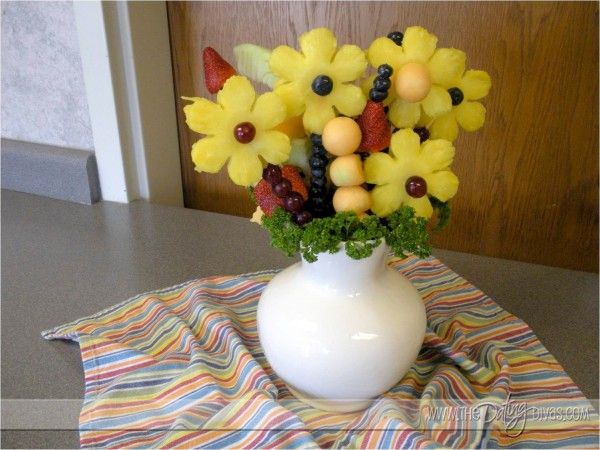 DIY edible arrangement!