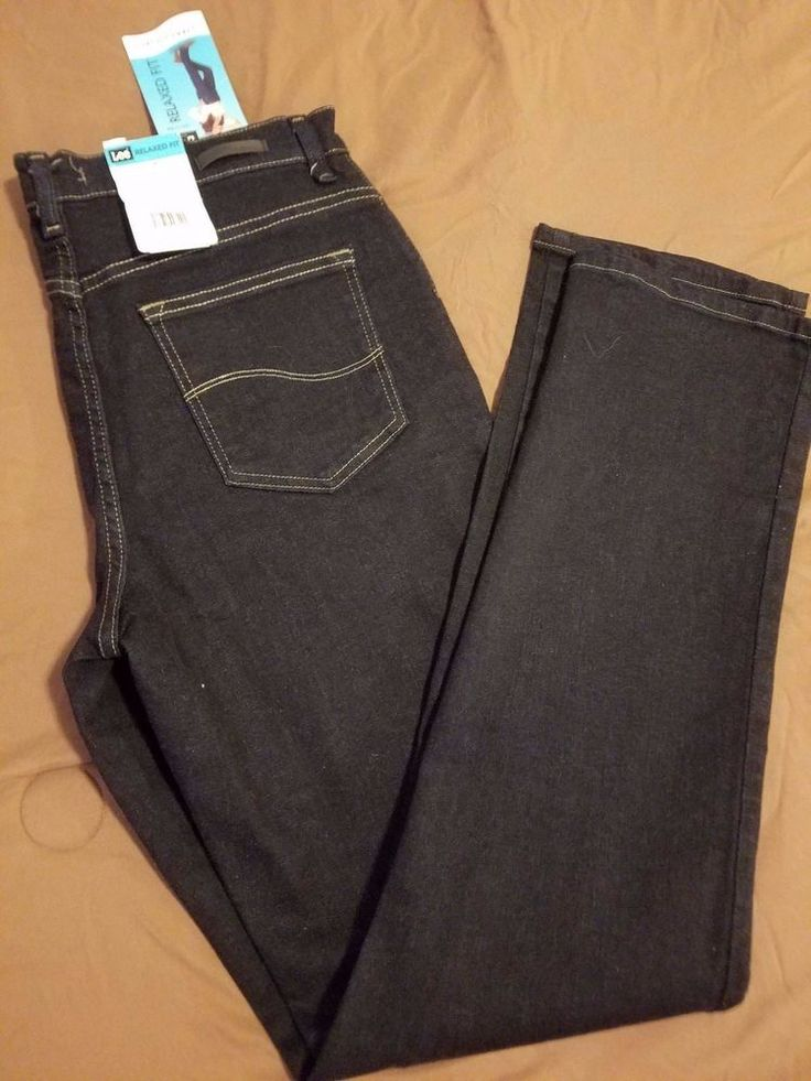 Check out NEW Lee Relaxed Fit Straight Leg stretch jeans size 8 Long #Lee #Straightleg http://www.ebay.com/itm/NEW-Lee-Relaxed-Fit-Straight-Leg-stretch-jeans-size-8-Long-/302270408429?roken=cUgayN&soutkn=Ukl0BS via @eBay