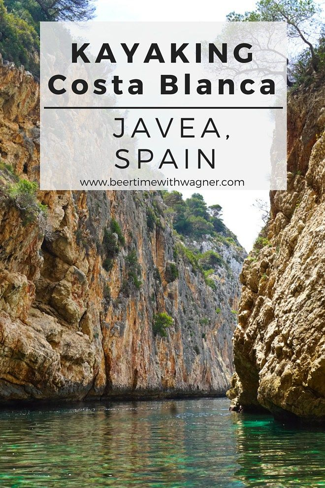 I spent a wonderful day kayaking Costa Blanca, also know as the White Coast of Spain, while on vacation. Located in Javea, it is a short trip away from Alicante and the perfect adventure activity!
