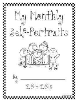 USE NEXT YEAR! Free Monthly Self Portraits 2014-2015