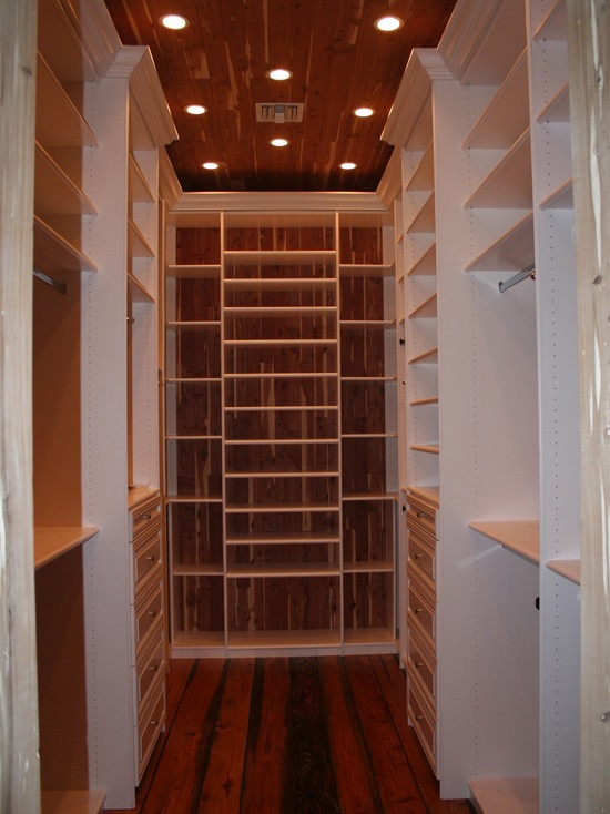 Cedar lined closet (maybe just back wall and ceiling?) - by The Closets  Company | Houzz