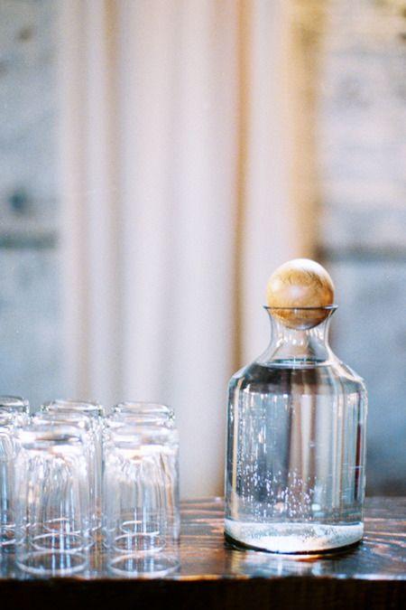 Make wooden balls for my many sized bottles.